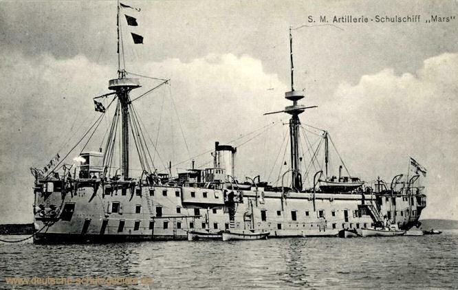 S.M. Artillerie-Schulschiff Mars