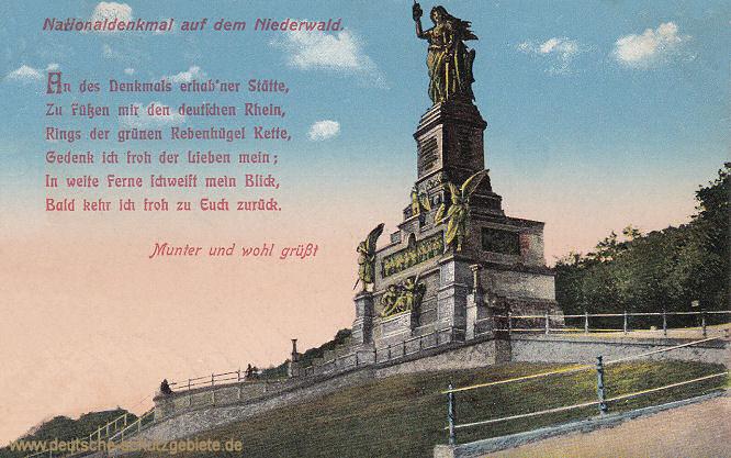 Nationaldenkmal auf dem Niederwald