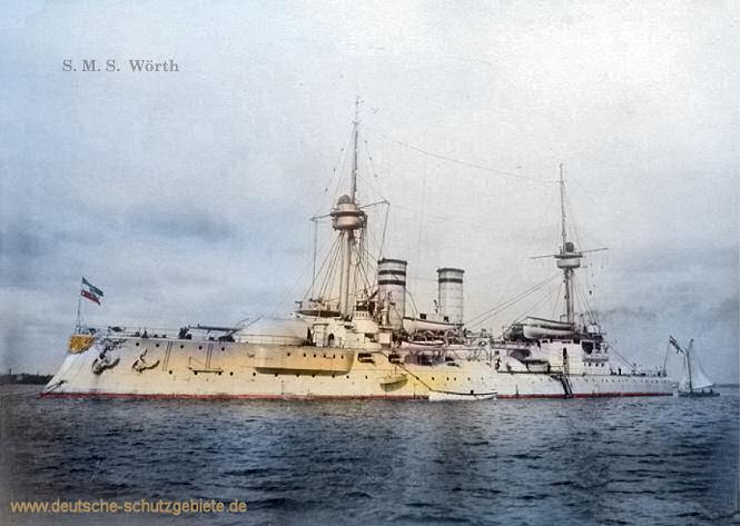 S.M.S. Wörth, Linienschiff