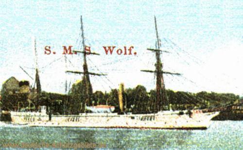 S.M.S. Wolf, Kanonenboot