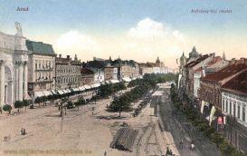 Arad, Andrássy téri részlet