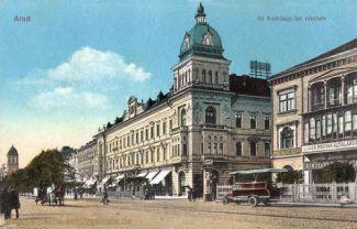 Arad, Az Andrássy téri részlet