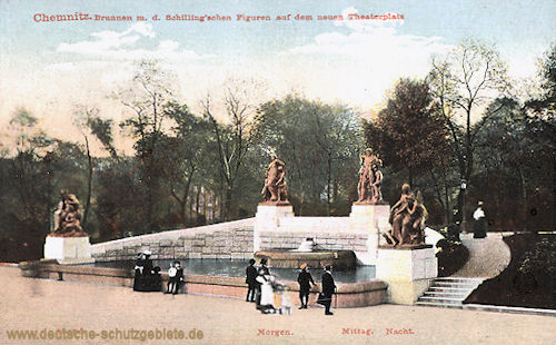 Chemnitz, Brunnen