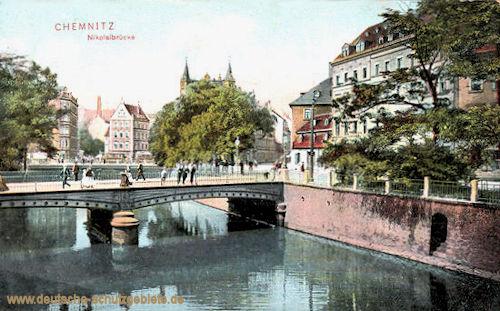 Chemnitz, Nikolaibrücke
