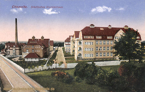 Chemnitz, Städtisches Krankenhaus