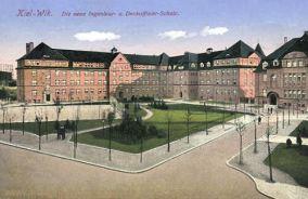 Kiel-Wik, Die neue Ingenieur- und Deckoffizier-Schule