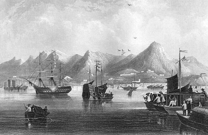 China Hong Kong Harbour 1842