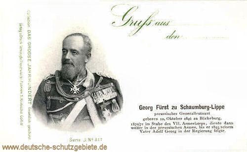 Georg Fürst zu Schaumburg-Lippe