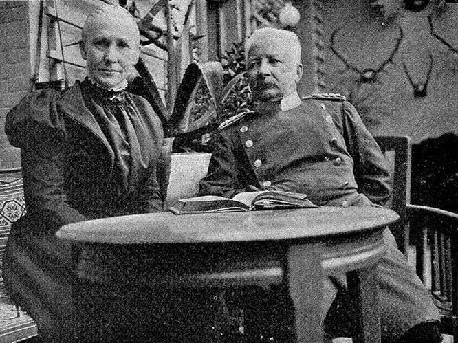 Graf und Gräfin Waldersee