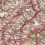 Fürstentum Birkenfeld, Landkarte 1910
