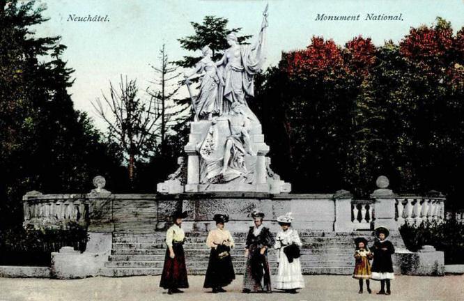 Neuenburg, Republik-Denkmal 1. März 1848
