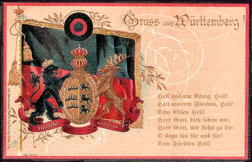 Hymne Württembergs - Heil unserm König, Heil!