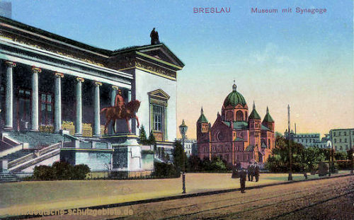 Breslau, Museum mit Synagoge