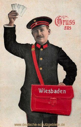 Briefträger Wiesbaden