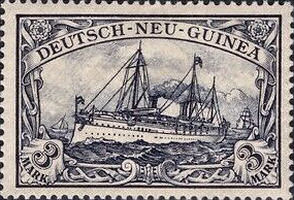Deutsch-Neu-Guinea Nr. 18, 3 Mark