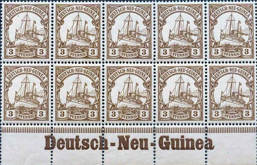 Deutsch-Neu-Guinea, Briefmarken