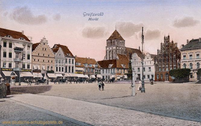 Greifswald, Markt