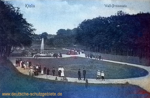 Köslin, Wall-Promenade