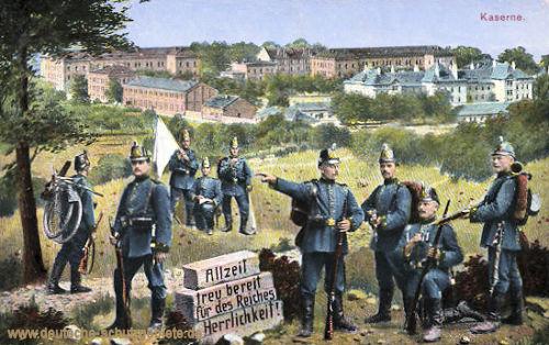 Aschaffenburg, Garnisonstadt des Königl. bayr. II. Jägerbataillons