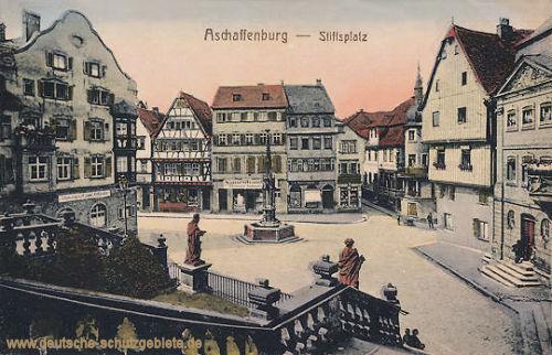 Aschaffenburg, Stiftsplatz