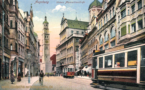Augsburg, Untere Maximilianstraße