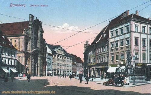 Bamberg, Grüner Markt