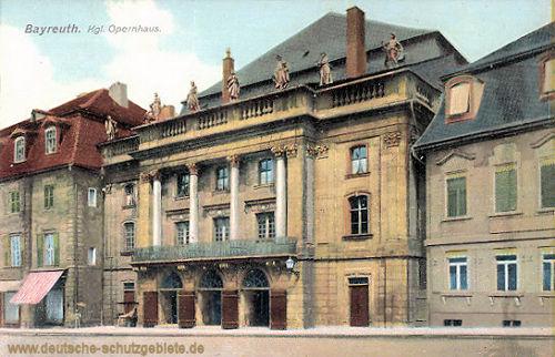 Bayreuth, Königliches Opernhaus