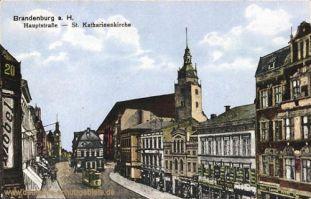 Brandenburg a.H., Hauptstraße, St. Katherinenkirche