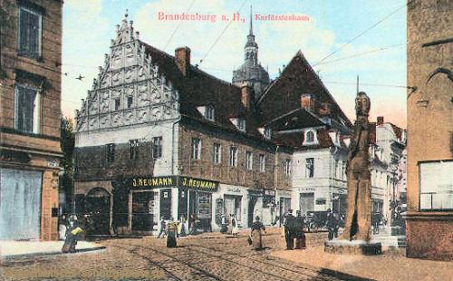 Brandenburg a. H., Kurfürstenhaus