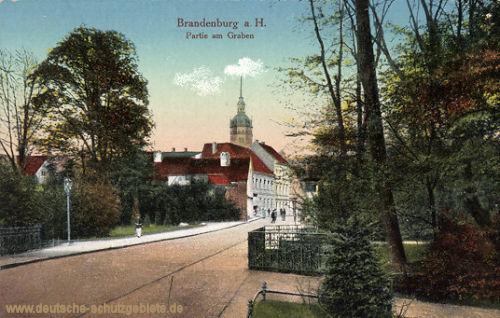 Brandenburg a. H., Partie am Graben