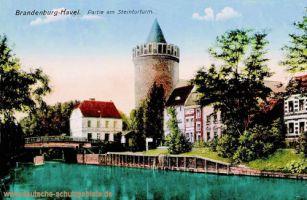 Brandenburg a.H., Partie am Steintorturm