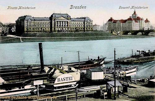 Dresden, Finanz-Ministerium, Gesamt-Ministerium