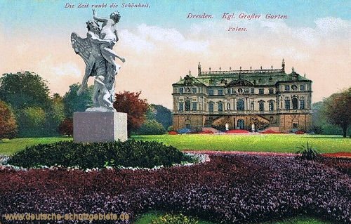 Dresden, Königlicher Großer Garten, Palais
