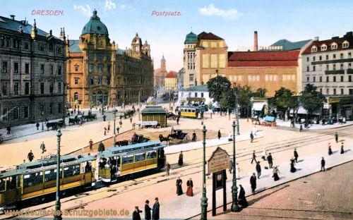 Dresden, Postplatz