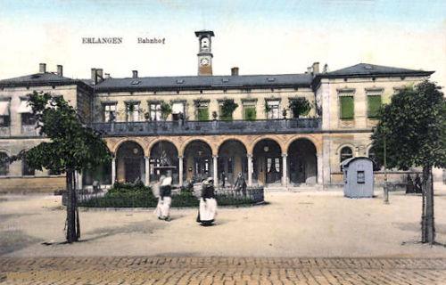 Erlangen, Bahnhof