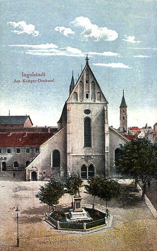 Ingolstadt, Am Krieger-Denkmal