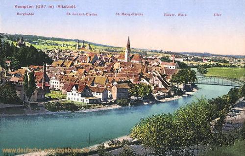 Kempten, Altstadt