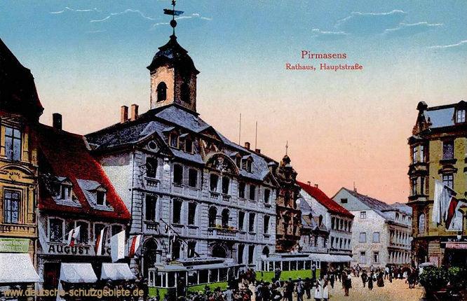 Pirmasens, Rathaus, Hauptstraße