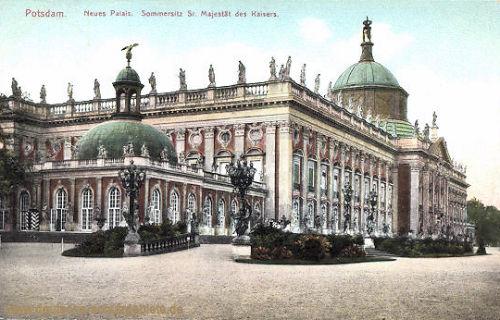 Potsdam. Neues Palais. Sommersitz Sr. Majestät des Kaisers