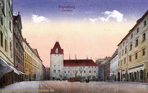 Regensburg, Haidplatz