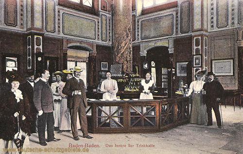 Baden-Baden, Das Innere der Trinkhalle