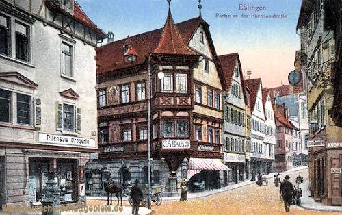 Eßlingen, Pliensaustraße