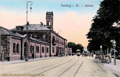 Freiburg i. B., Bahnhof