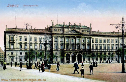 Leipzig, Hauptpostamt