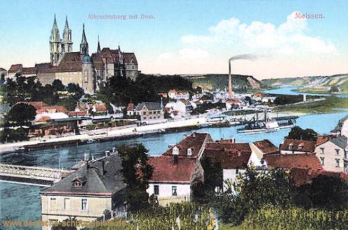 Meißen, Albrechtsburg und Dom