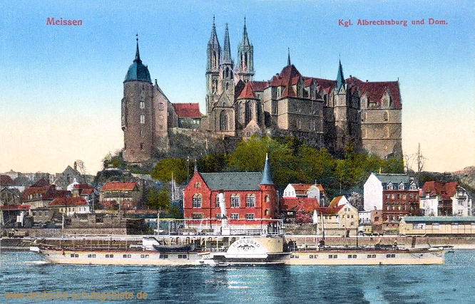 Meißen, Königliche Albrechtsburg und Dom
