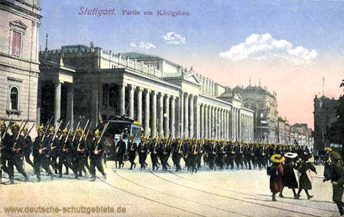 Stuttgart, Partie am Königsbau