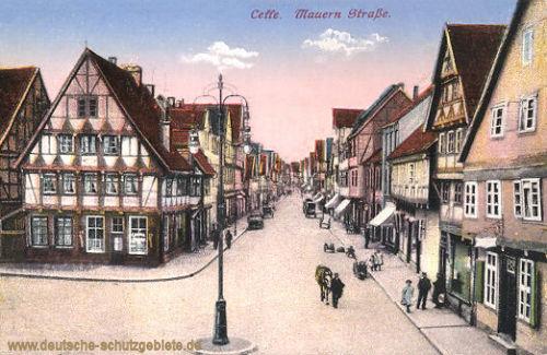 Celle, Mauern-Straße