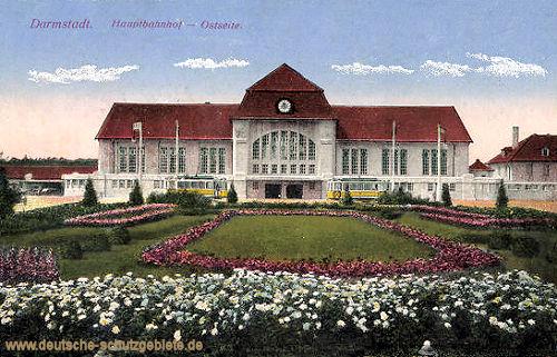 Darmstadt, Hauptbahnhof Ostseite