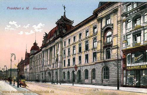 Frankfurt a. M., Hauptpost